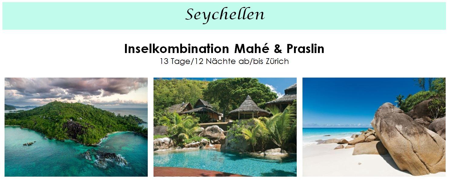 Seychellen - Inselkombination Hotel Constance Ephélia und Constance Hotels Lémuria auf Praslin - Seychellen Hotel buchen auf verschiedenen Inseln