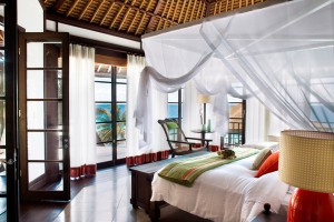 Luxushotel - Seychellen Fregate Island - Badezimmer