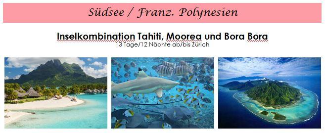 Südsee Flitterwochen - Hochzeitsreise Südsee - Französisch Polynesien - Honeymoon