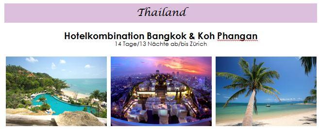 Flitterwochen - Hochzeitsreise Thailand
