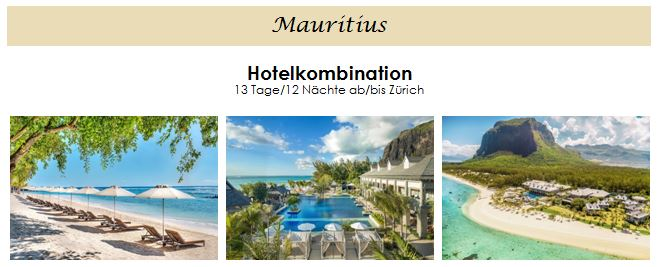 Flitterwochen - Hochzeitsreise - Mauritius - Honeymoon auf Mauritius - Angebot