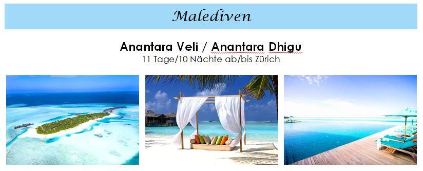 Hotel für Flitterwochen auf den Malediven