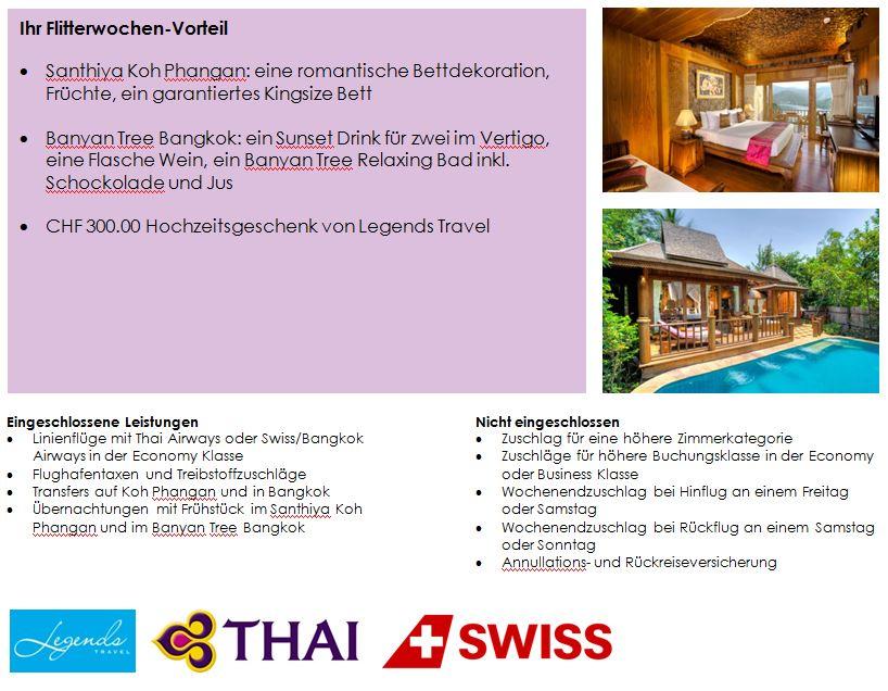 Thailand - hotel für Flitterwochen