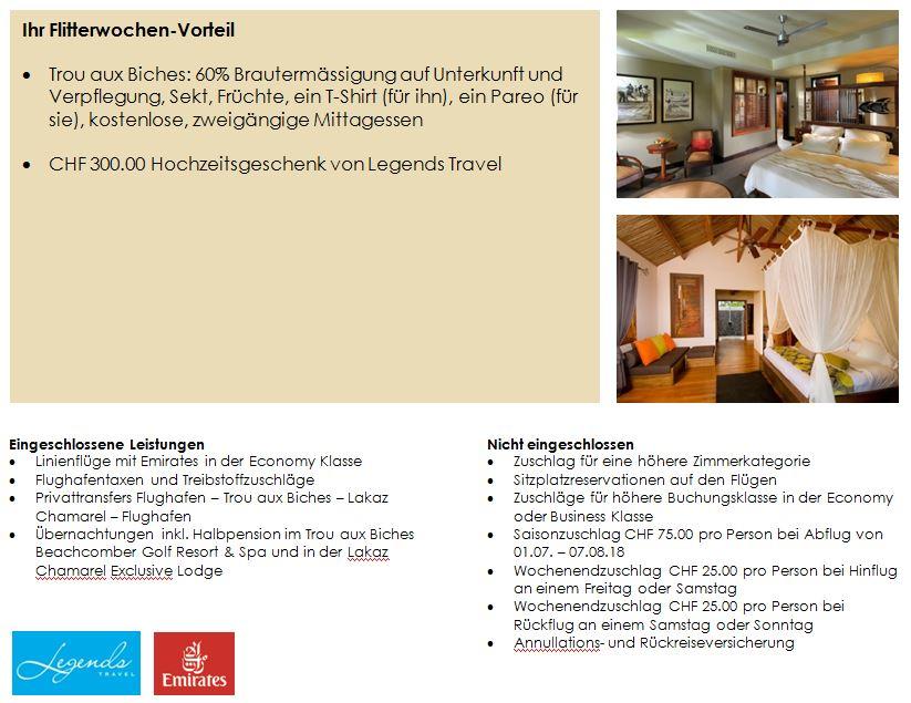 Flitterwochen -La Reunion - Mauritius - Kombination - Hochzeitsreise - Hotel - Mauritius -Lakaz Chamarel - The St. Regis