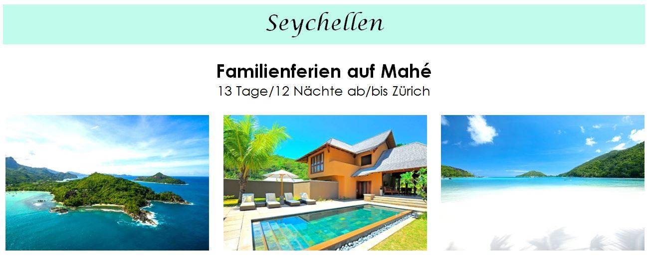 Seychellen Familien - Seychellen Ferien mit Kindern
