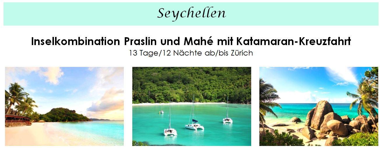 Segeln - Segelkreuzfahrt auf den Seychellen