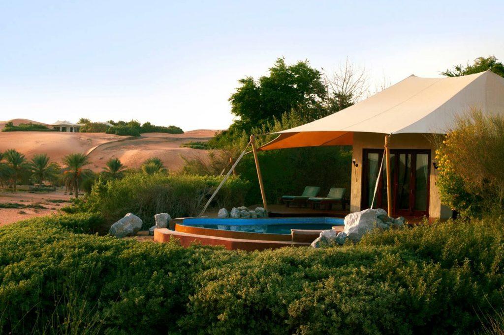 Luxuriöses Wüstenresort in Dubai - Al Maha Desert Resort & Spa - Luxusresort im Beduinenstil