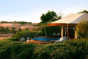 Dubai exklusives Wüstenresort für Luxusreise