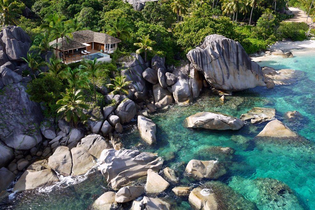 Seychellen - exklusive Insel - Six Senses Zil Pasyon - Resort