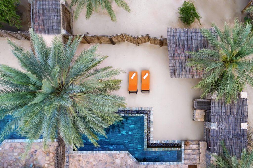 Oman Luxusresort - Rustikaler Luxus - Six Senses Resort Oman - exklusives Hotel Oman - Musanandam