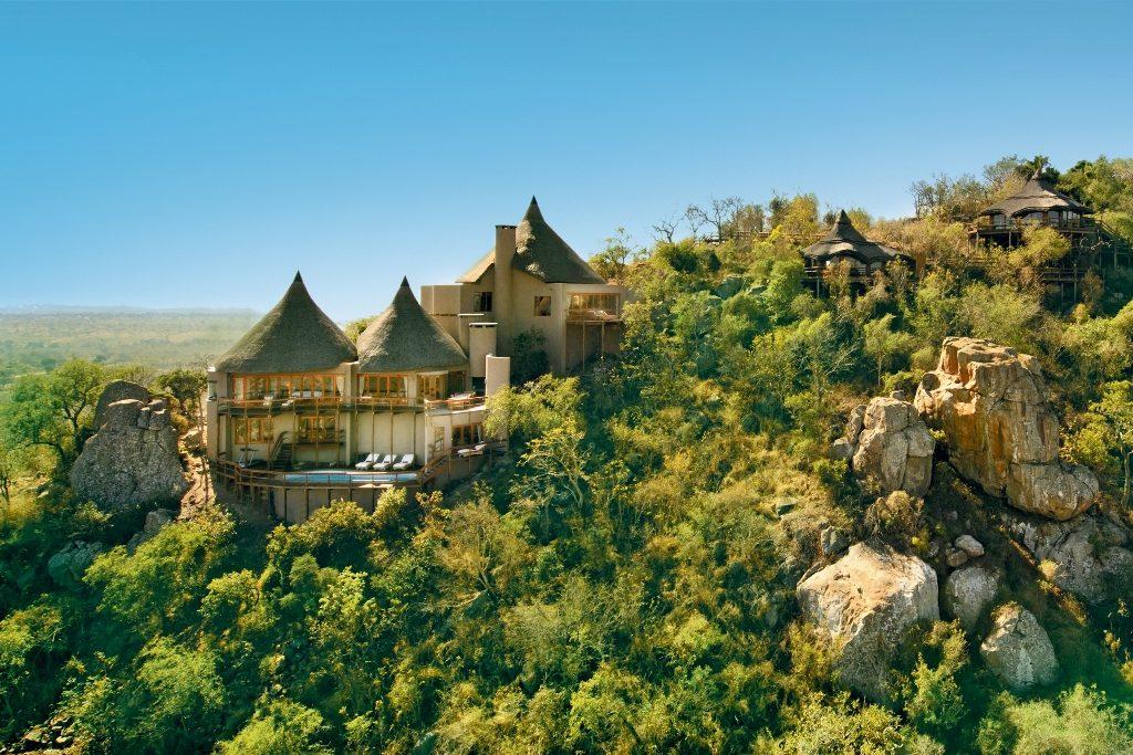 Südafrika - Ulusaba Private Game Reserve - exklusive Lodges - Safari Lodge - Rock Lodge