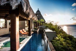 Luxushotel Seychellen buchen -Exklusive Luxusferien - Design Hotel - persönlicher Butler - Villa mit Pool Seychellen