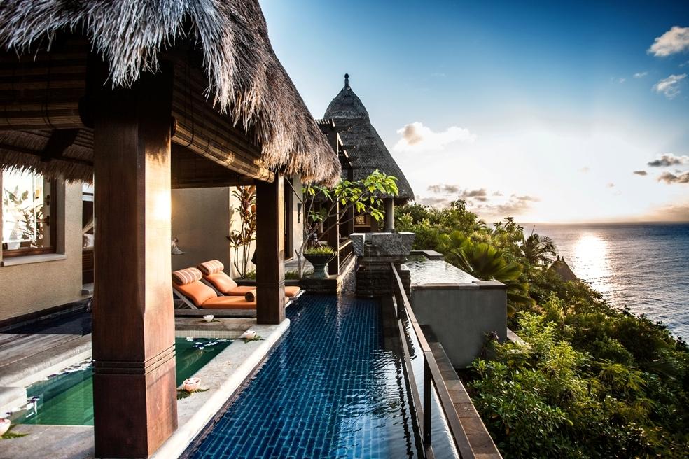 Seychellen Luxushotel Maia Luxury Resort - Luxus, Ruhe und Privatsphäre