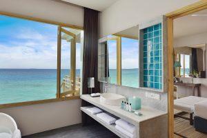 Wasserbungalow mit Pool - Malediven Luxusreise