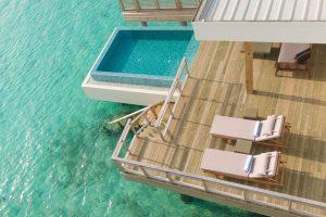 Luxushotels Malediven - Wasserbungalow im 5 Sterne Hotel