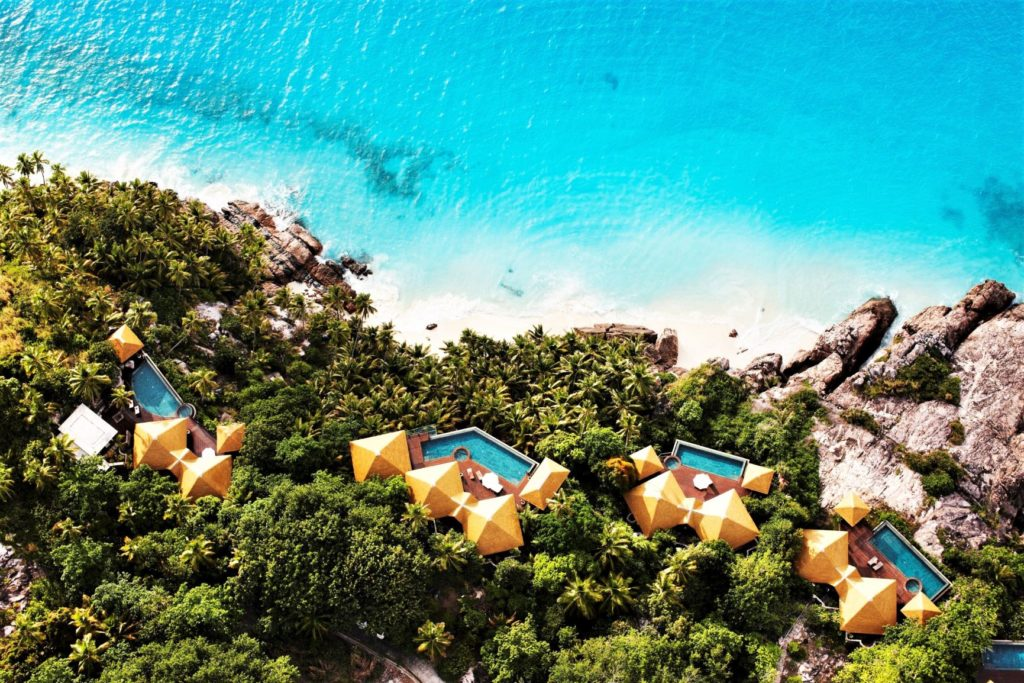Luxusresort Seychellen - Fregate Island Private - Luxuriöse Villen auf einer traumhaften Insel