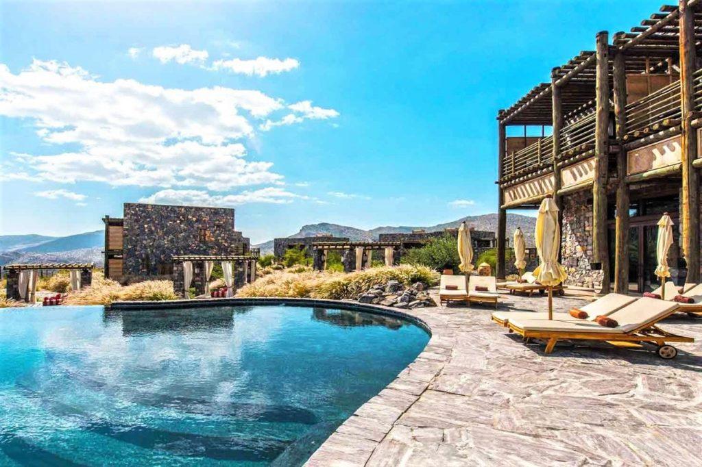 Luxushotel im Oman - Alila Jabal Akhdar - Traumhaftes Hotel in den Bergen