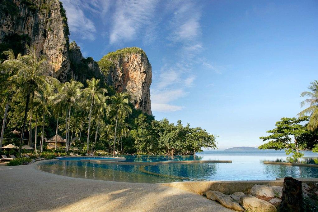 Hotel in Thailand - Rayavadee Krabi - direkt am Strand für exklusive Thailand Badeferien - Luxus pur