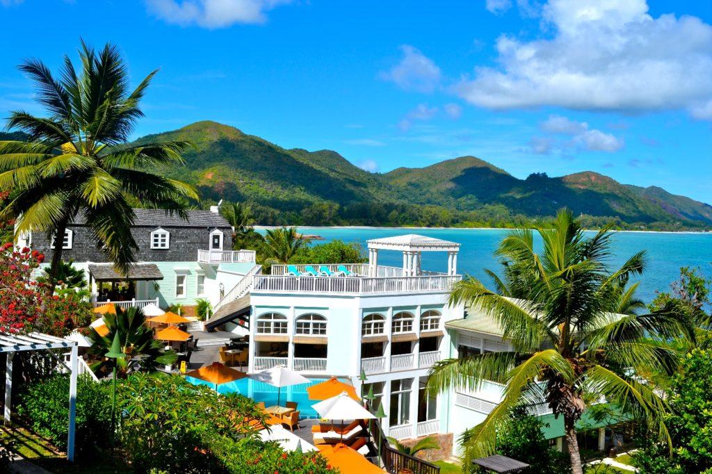 Seychellen Ferien Hotel am Traumstrand von Praslin -