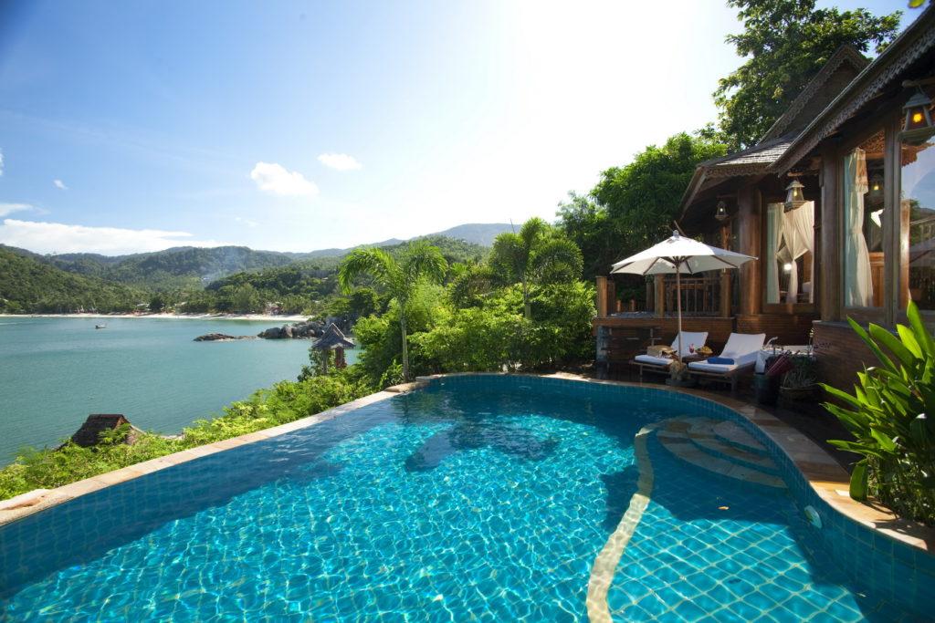 Thailand Ferien - Insel Koh Phangan - Santhiya Koh Phangan -  Luxushotel