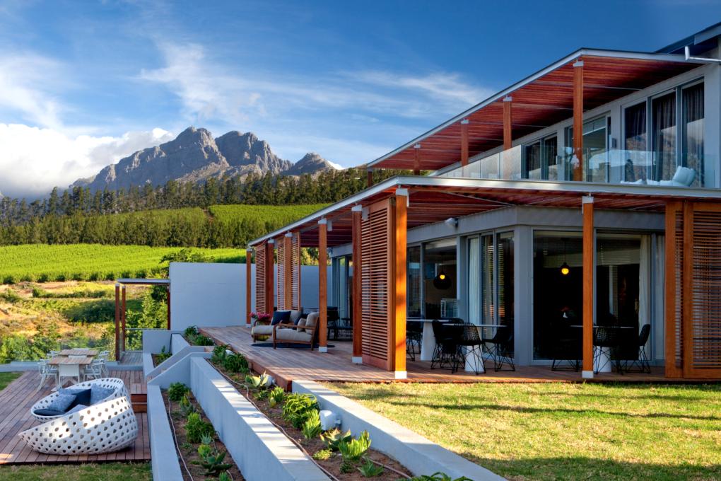 Honeymoon Südafrika Weingebiet - Stellenbosch - Clouds Estate