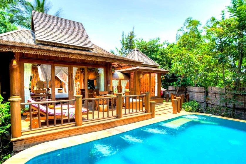 Hotel Santhiya Pool Villen