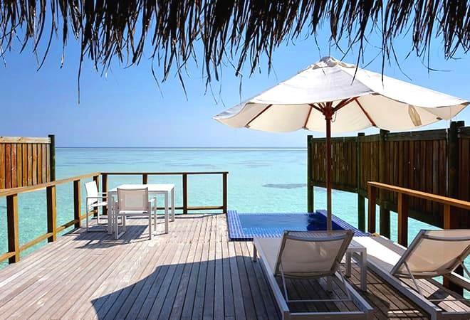 Wasservilla für Honeymoon Malediven
