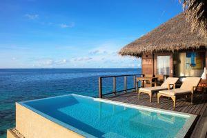 5 Sterne Hotel Malediven - Coco Bodu Hithi Escape Water Villa