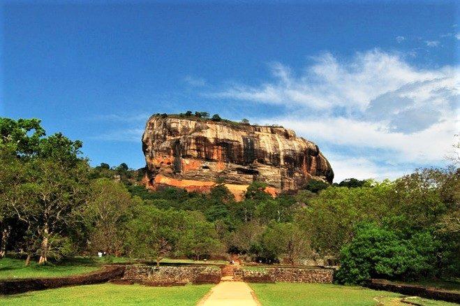 Sri Lanka Rundreise - Sigiriya Felsen