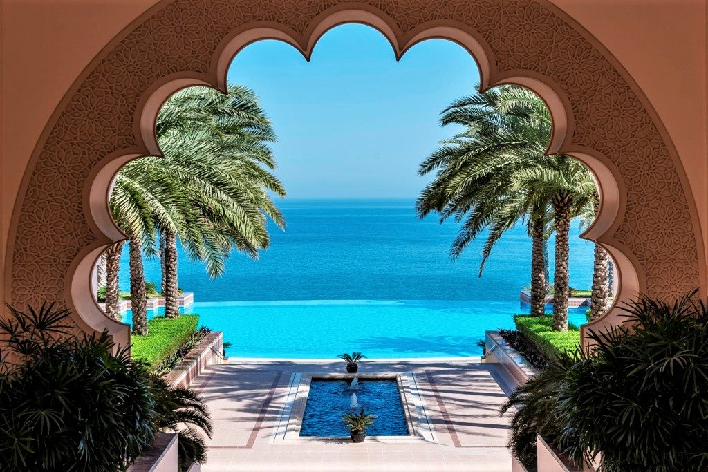 Luxus Hotels Oman - Shangria La Al Husn - Luxusferien Oman