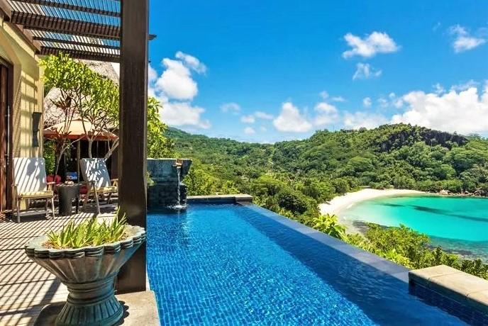 Seychellen Luxusferien - Anantara Maia Seychelles Villas - Seychellen Poolvilla
