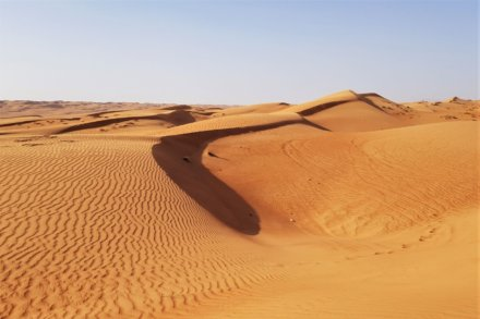Gebirge – Wahiba Wüste