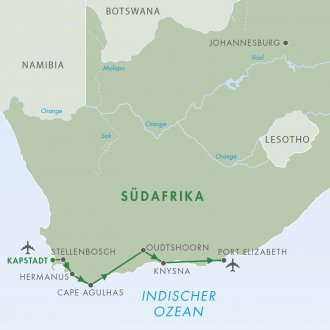 Ankunft Kapstadt