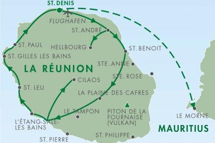 Ankunft auf La Réunion