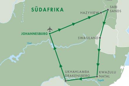 Johannesburg - Hazyview